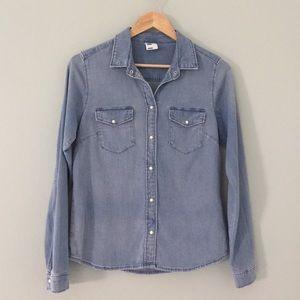 H&M Button Down Denim Shirt | 14